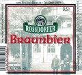 Sauer Braunbier - Rossdorf
