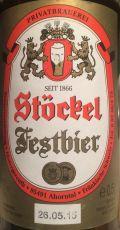 Stöckel Festbier - Hintergereuth